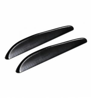 Bumper flaps s carbon texture