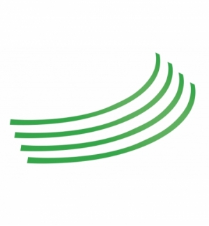 rim-stickers adesivi per ruote 14-16 verde