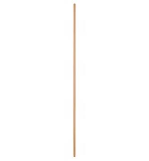 Manico legno naturale h.150cm diam.0,26 senza vite