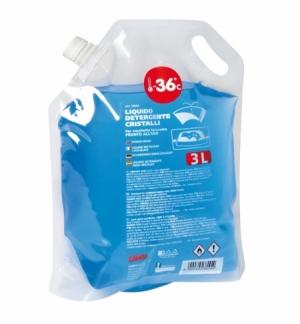 Detergente cristalli 3000ml. (-36 c) sacchetto con manico