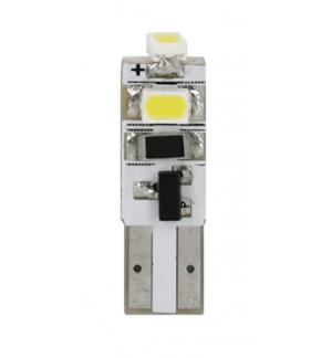 Lampademega-led12v 3smd t5 w2x4,6d