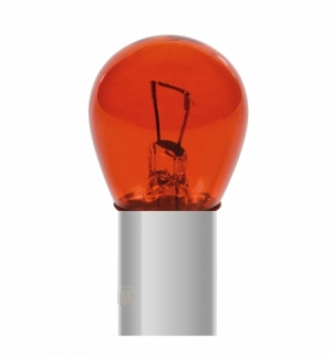 """Cp.lampade 1 filam. 21w ba15s """"red-dyed"""" colour"""