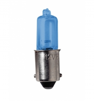 Cp.lamp. 12v. Bax 9s 6w blu