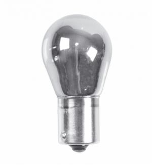 Cp.lamp.12v.ba15s 21w 1filam cromo-bianco (p21w)
