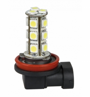Cp.lampade h11 multiled 12v 18 led smd