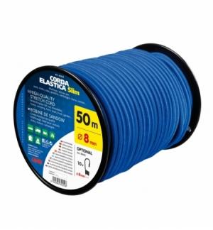 Corda elastica in bobina diam.8mm, 50 metri