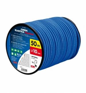 Corda elastica in bobina diam.10mm, 50 metri