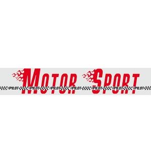 Fasce parasole pilot motor sport fluorescenti
