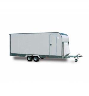 Carrello rimorchio trasporto auto e veicoli PAF25XL basculante idraulico