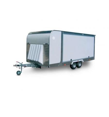 Carrello rimorchio trasporto auto e veicoli PAF25 basculante idraulico