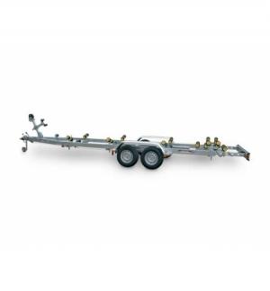 Carrello rimorchio trasporto imbarcazioni N3000-R