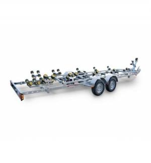 Carrello rimorchio trasporto imbarcazioni N3000L-R