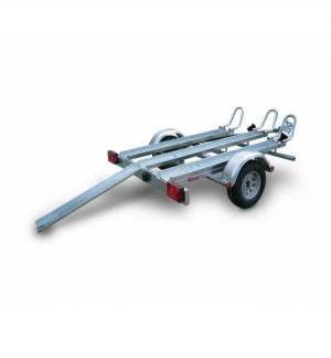 Carrello rimorchio trasporto moto TM5 senza freni