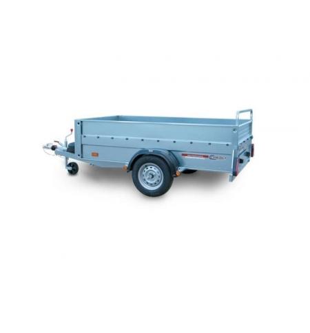 Carrello rimorchio trasporto cose con rampe di salita PT6CA