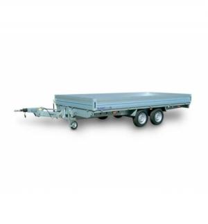 Carrello rimorchio trasporto cose C35L timone regolabile in altezza