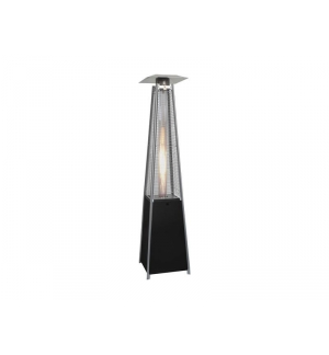 Stufe a Gas Piramide con ruote colore nero Pot.13 KW.