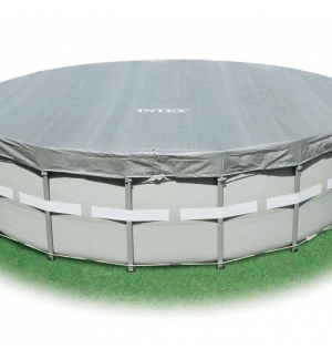 INTEX Telo di copertura deluxe per piscine fuori terra diametro cm 549