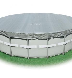INTEX Telo di copertura deluxe per piscine fuori terra diametro cm 488