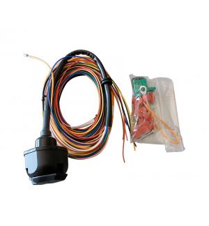 kit elettrico universale 7p Gancio di traino fisso Seat Arosa 1997-2004