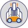 Pulizia semplice del robottino